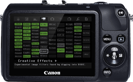 how to check firmware canon 700d